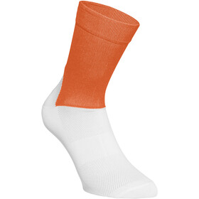 POC Essential Road sukat Miehet, zink orange/hydrogen white